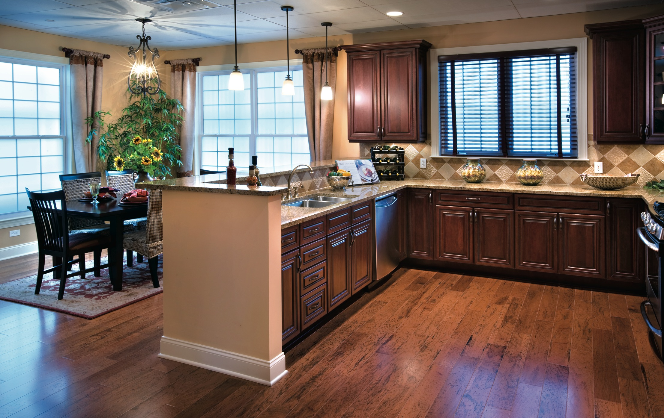 Toll Brothers' Regency at Fishkill Grand Opens Three ... on Kitchen Model Images  id=32202