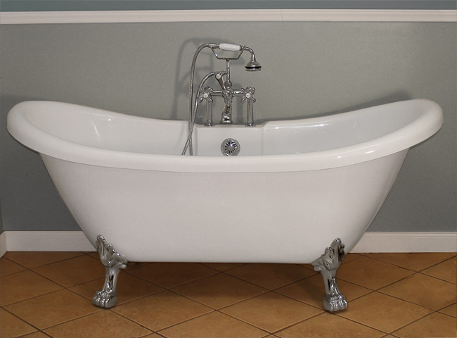 Pictures Of Clawfoot Bathtubs: The New Alternative To Cast Iron, Randolph Morris' Acrylic