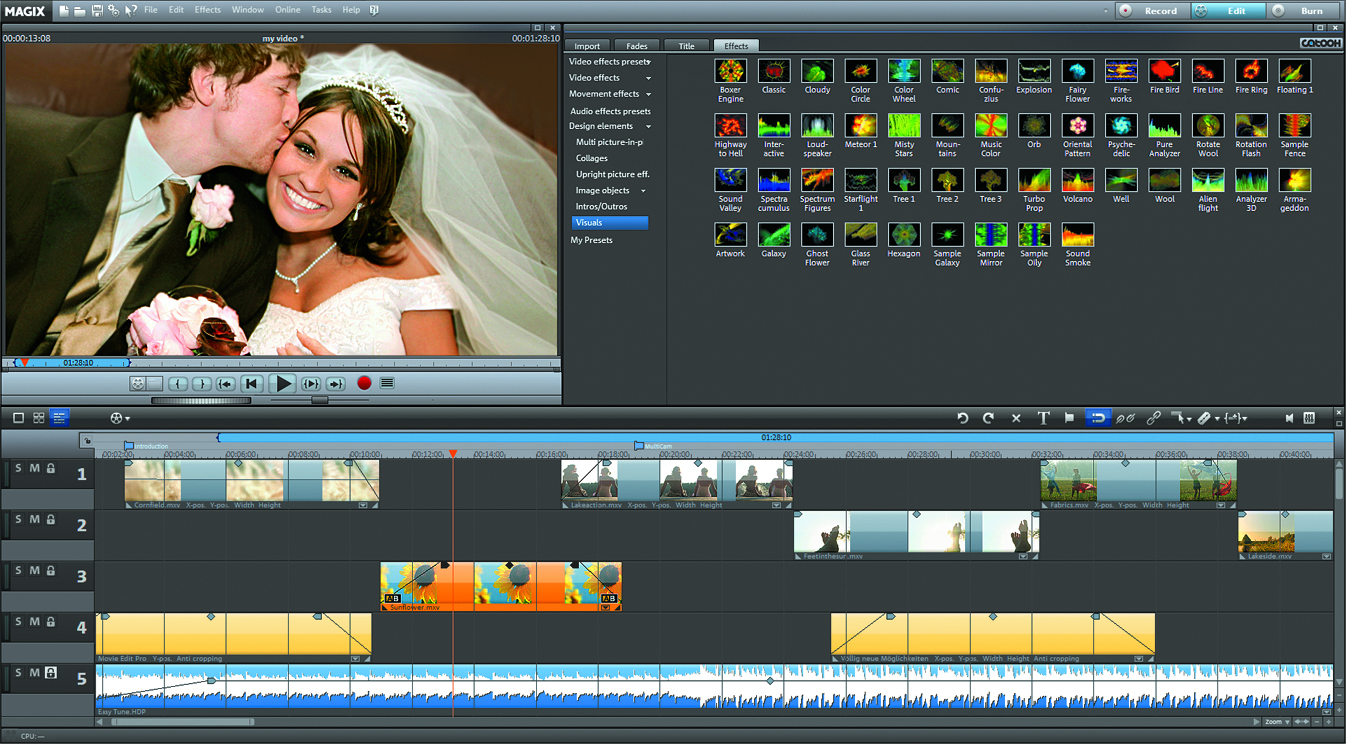 MAGIX Releases Movie Edit Pro 15 – Video Editing Software