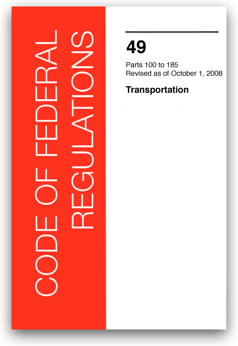 49 CFR: Transportation 2008 Edition Now Available From