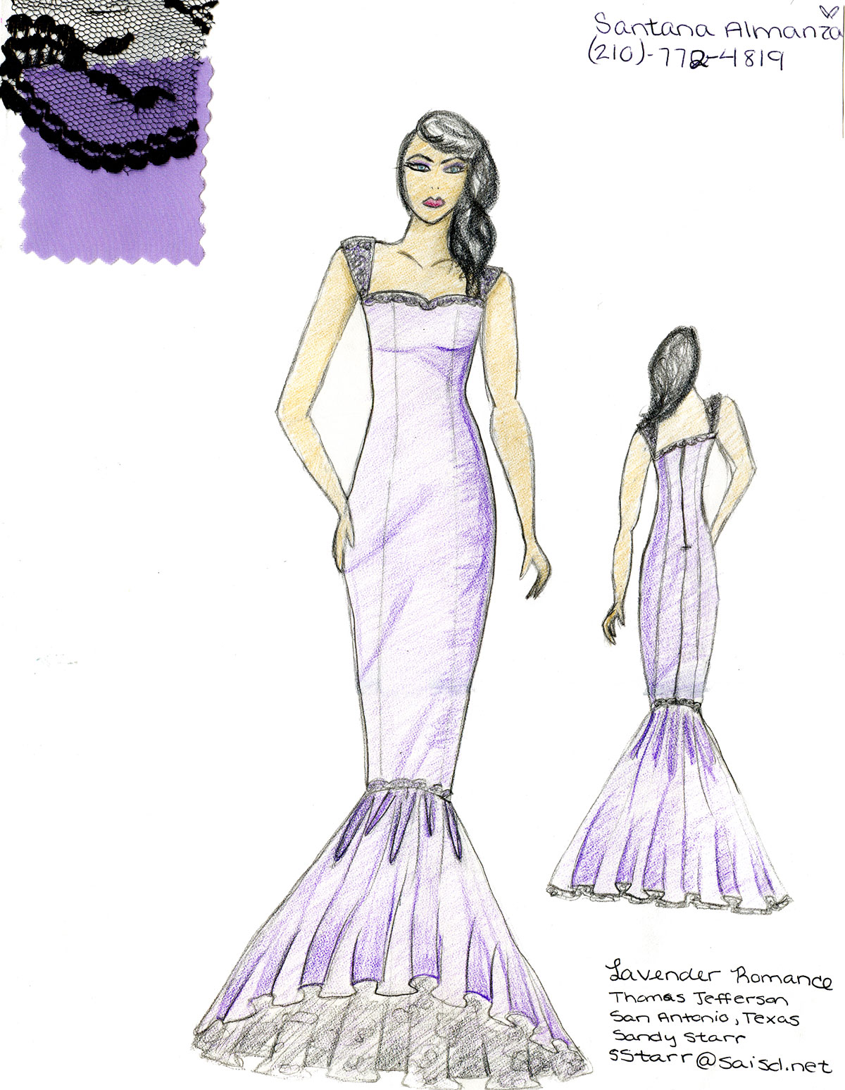 The Academy Awards Scholarships To High School Fashion Design Contest Winners