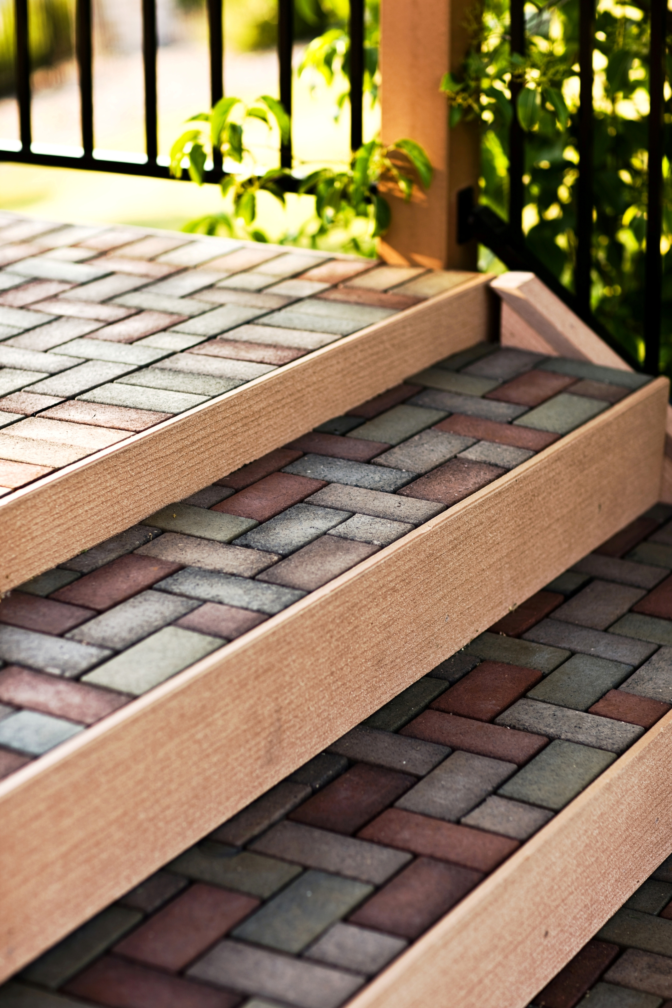More Green Innovation from VAST Enterprises: VAST® Composite Deck Pavers Bring the Style and ...