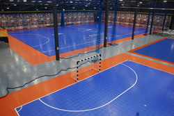 SnapSports flooring at USFF @Futsal