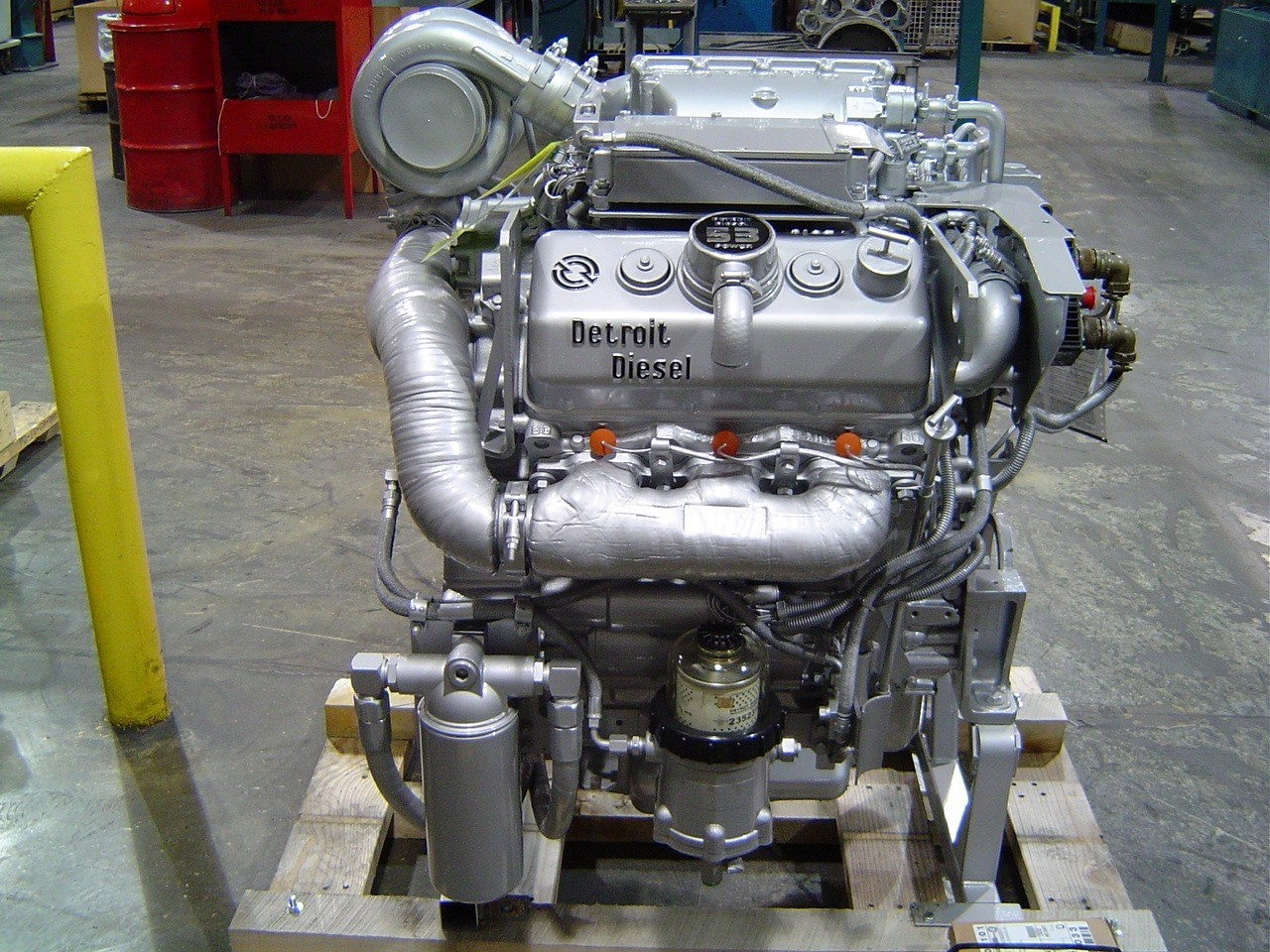 MTU Continues Detroit Diesel 2-Cycle Legacy With New Foreign