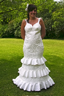 2008 Toilet Paper Wedding Dress Contest Winner2008 Chic Weddings Winner