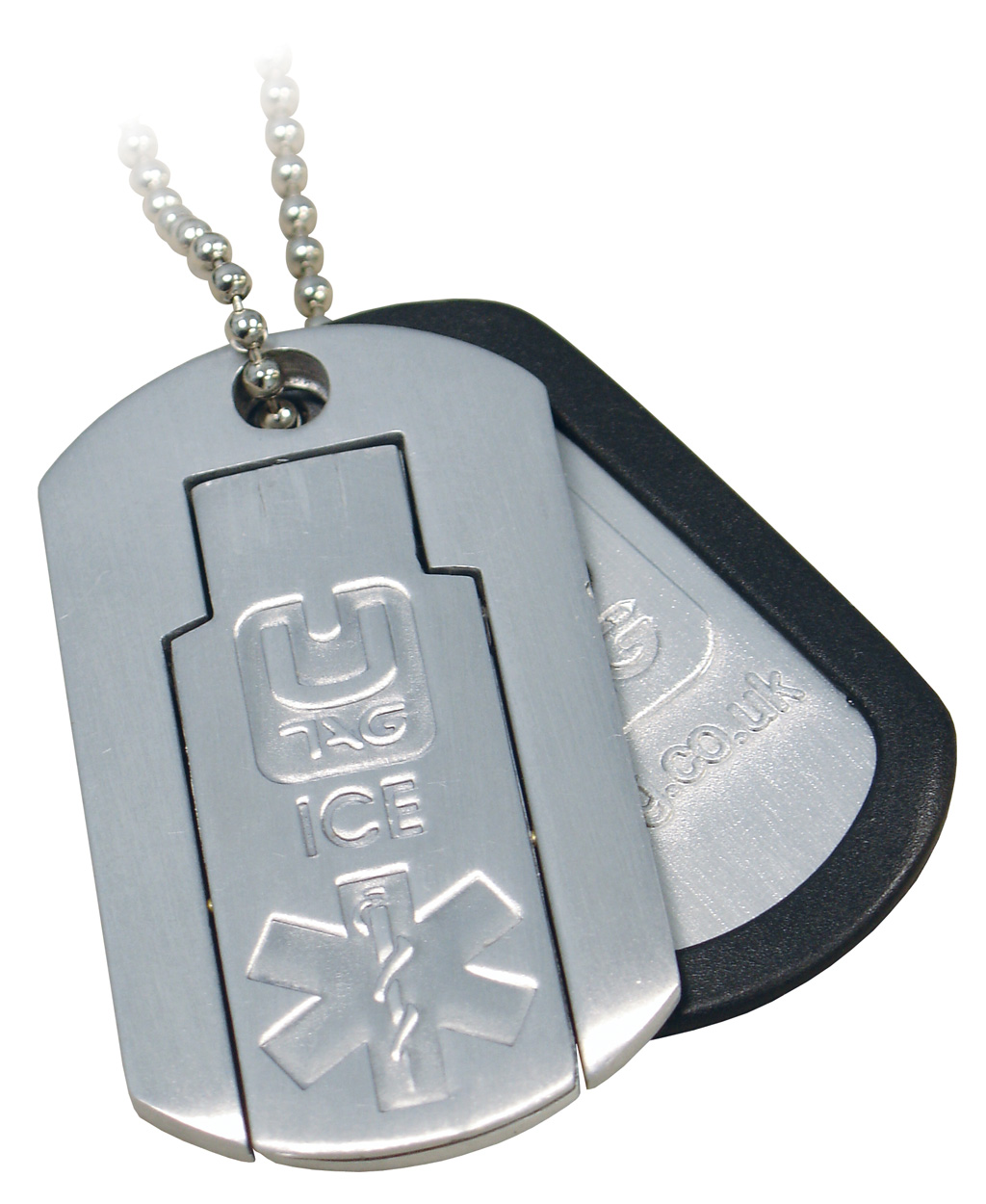 Usb Medical Alert Id Dog Tag Necklacethe Utag Ice In Case Of Emergency Can Be A Lifesaver As It Quickly Provides First Responders