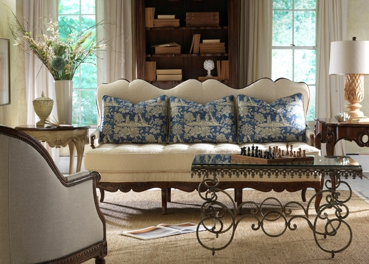 Superieur Marigny Upholstered Bed Urn Dining Table, Pompadour Banquette, Troubador  Dining Arm Chairs ...