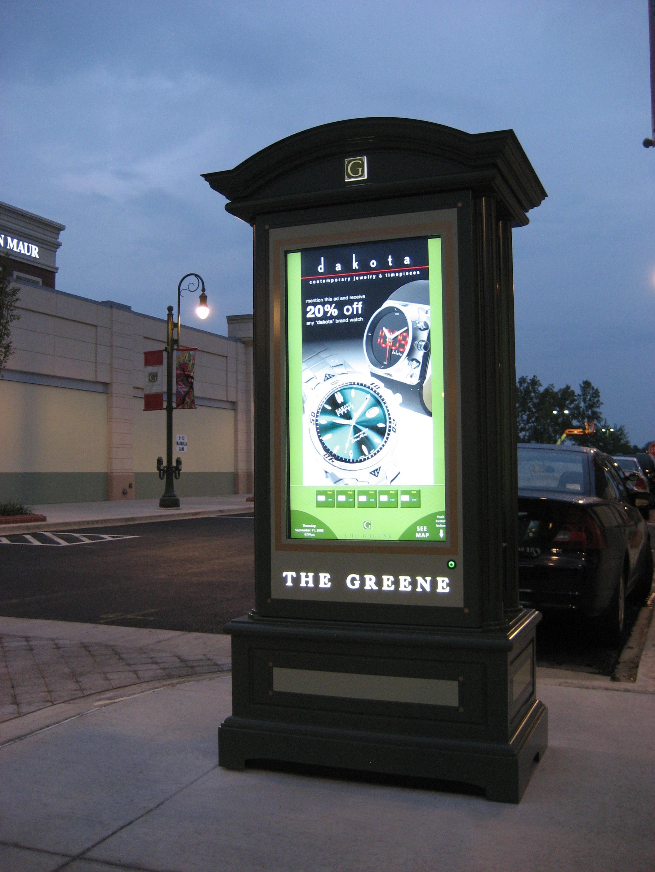Outdoor Information Kiosk : outdoor digital signage directory kiosk installed in heart of downtown buffalo mn ~ Yuntae.com Dekorationen Ideen