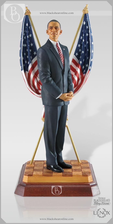 Michelle Obama Figurine From Thomas Blackshear S Ebony