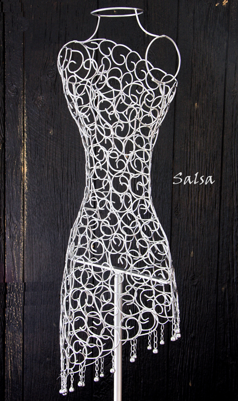 New Designs In Wire Mannequins And Dress Forms Create