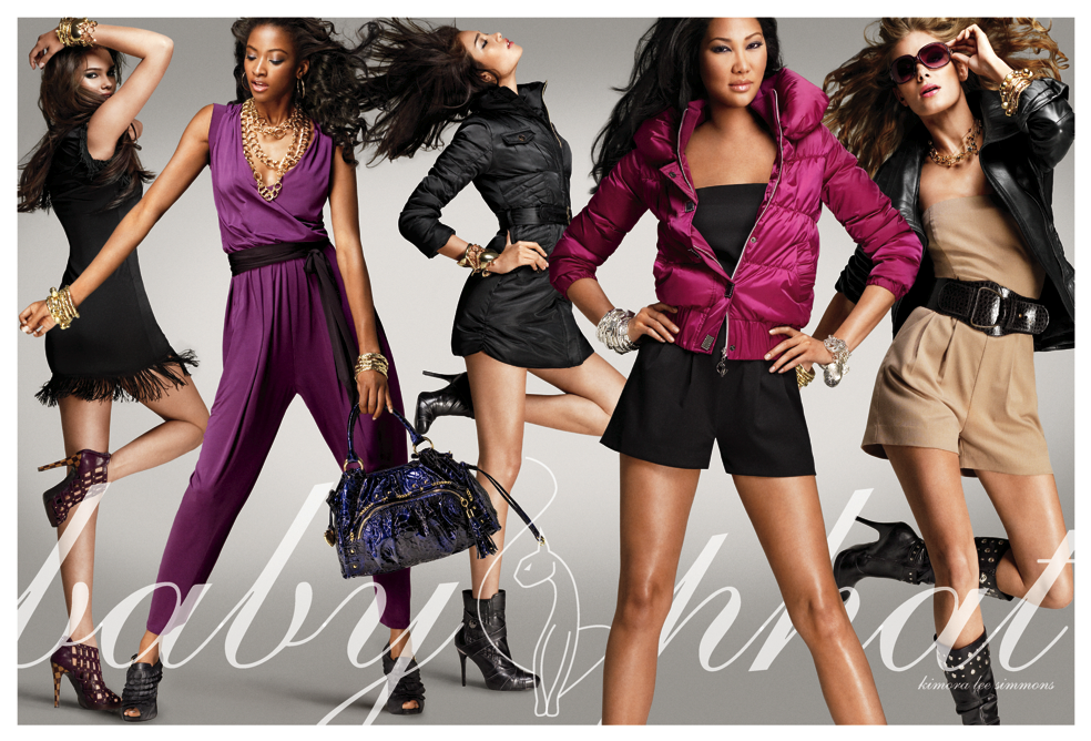 Baby Phat Clothes Classy Phat Fashions Presents The Fall 60 Ad Campaign