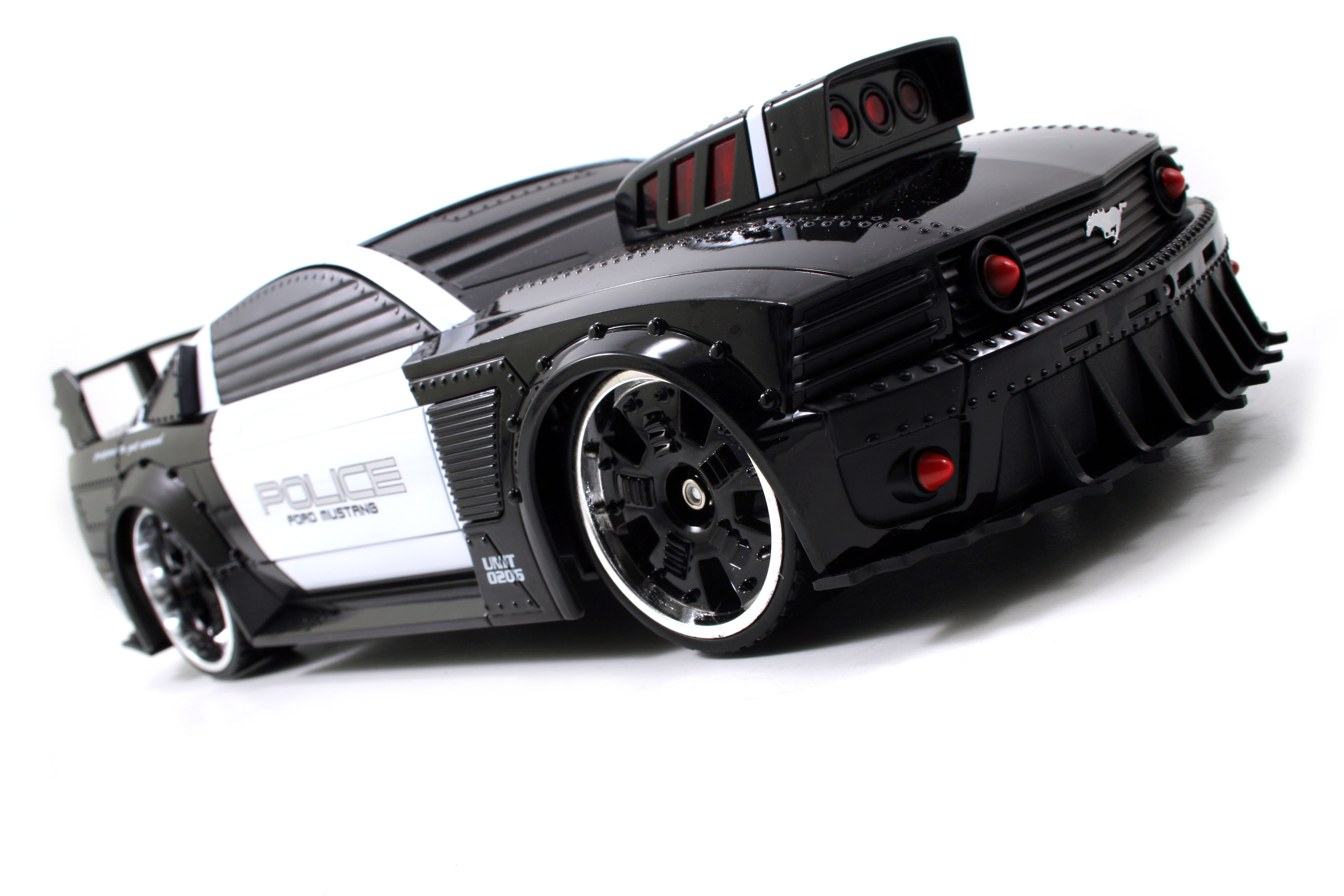 Police Car Website >> Battle Machines RC Brings a Fresh New Play Pattern to ...