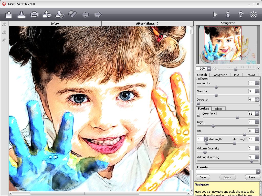 Программа когда фото можно превратить картинку ручной работы, добрым утром