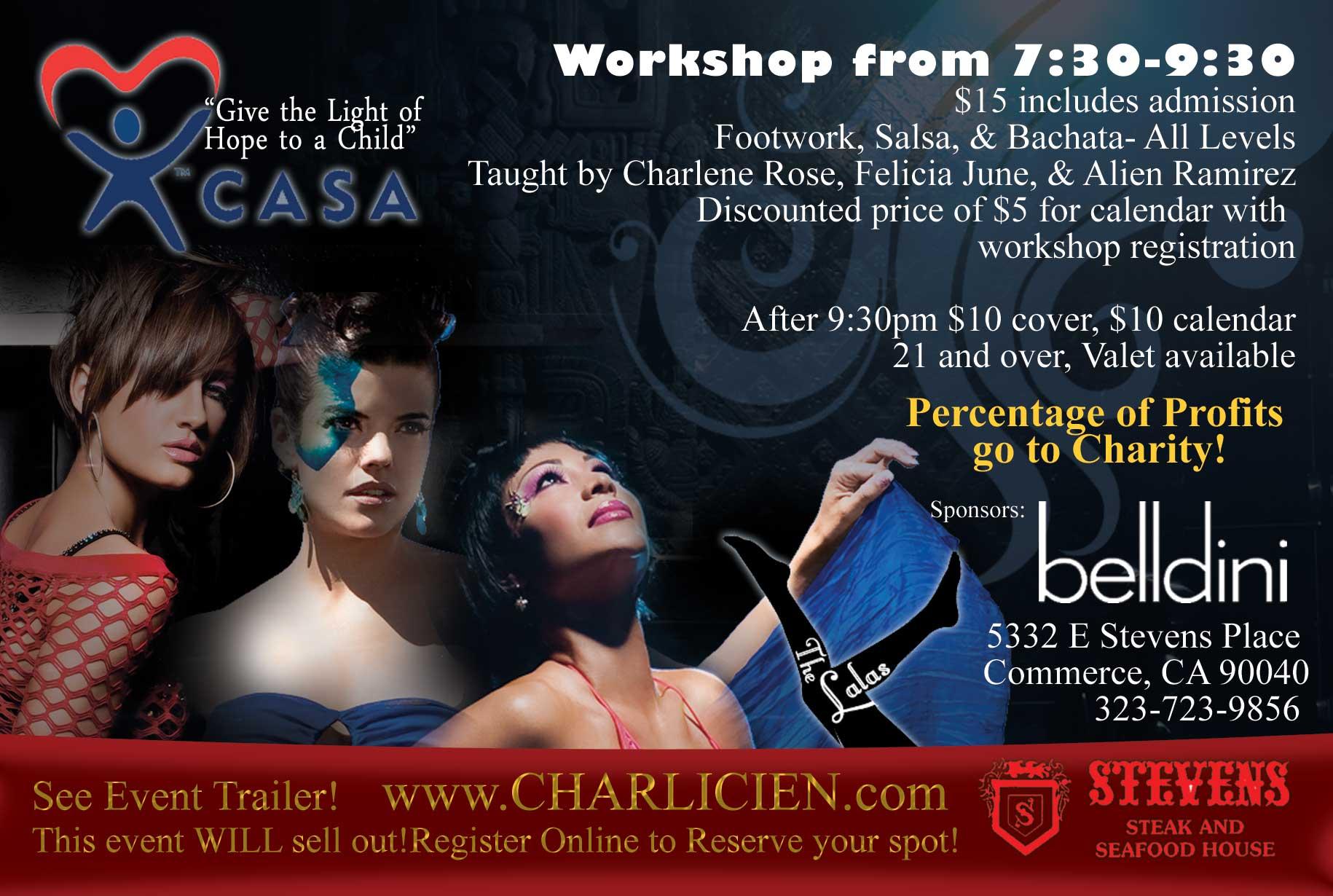 International Champion Salsa Dancers Invite Beginners To 2010 LA