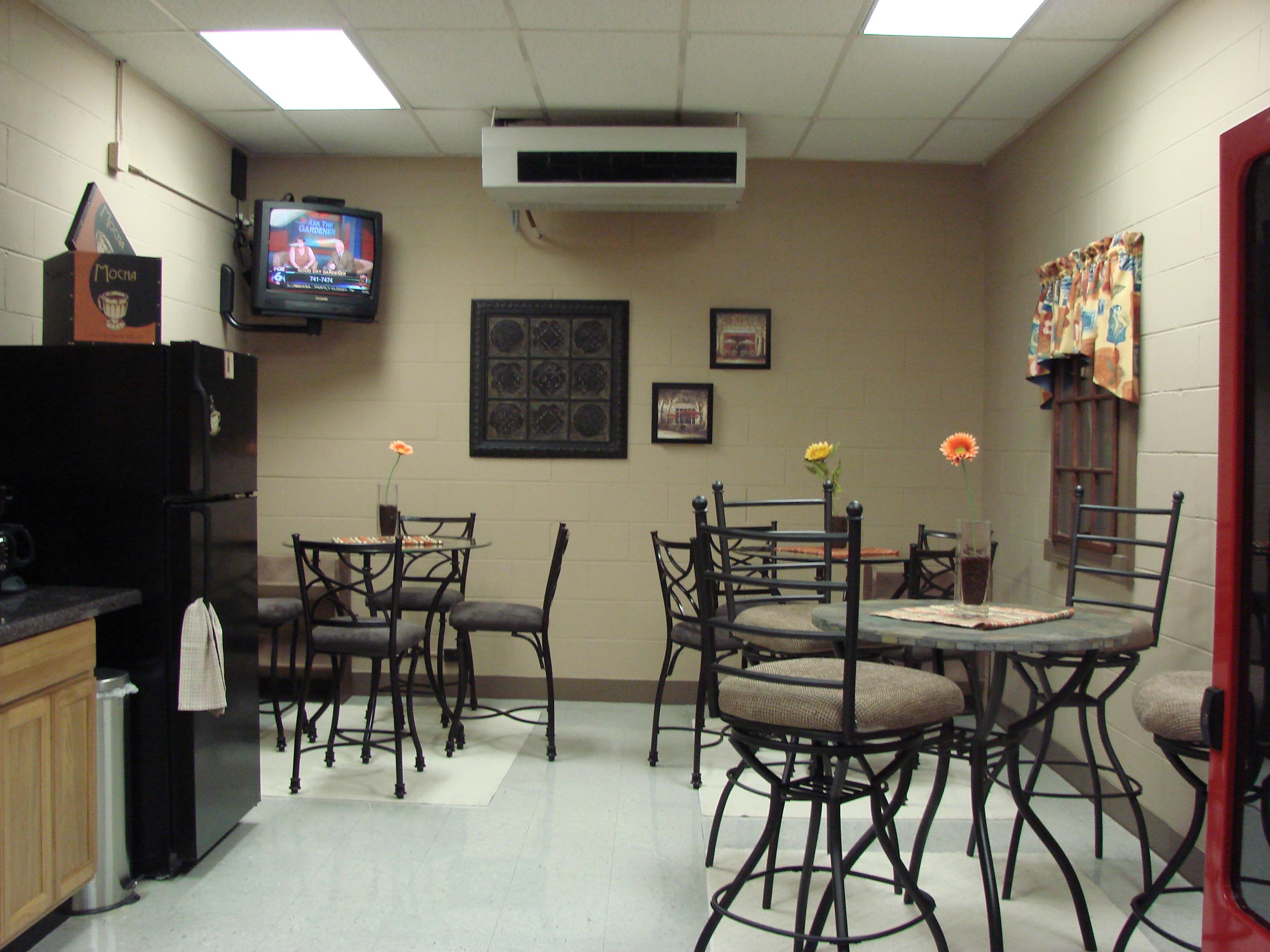 ... Fultondale, AL High School Break Room