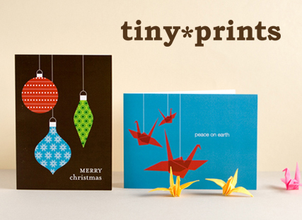 Tiny prints offers chic new looks for business holiday cards tiny prints corporate holiday greeting cards colourmoves