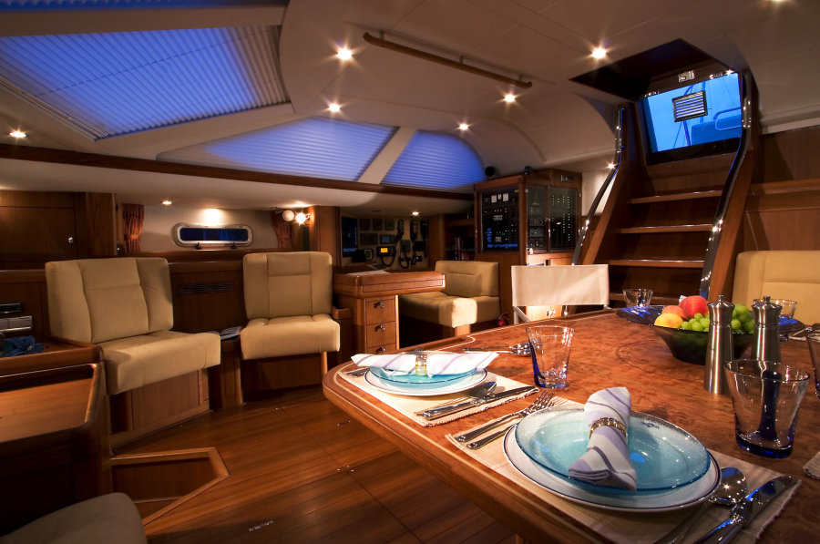 Claudette Bonvill: Interior Yacht Design - Underwater-Lights USA