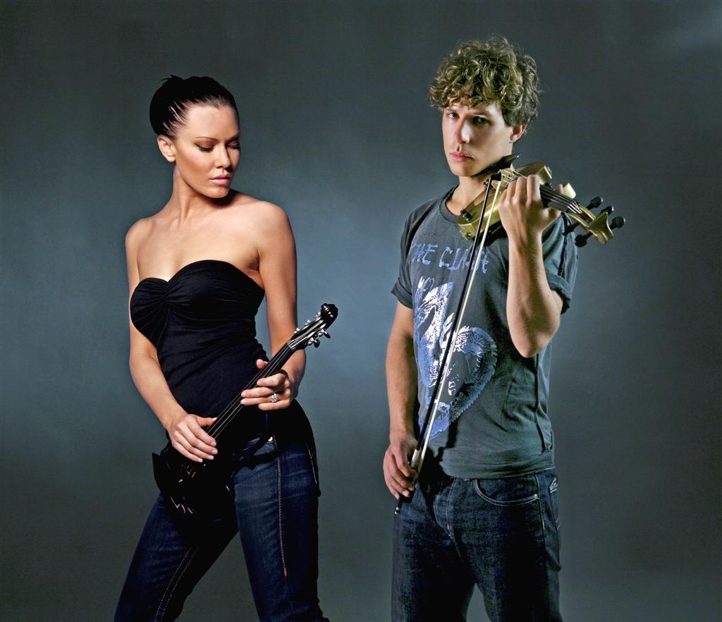 Rock Electric Violinist Linzi Stoppard And Her Band FUSE