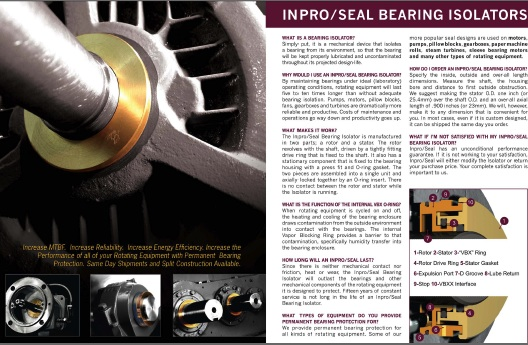 Baker Motor Company >> New Inpro/Seal Literature Is Valuable Source Of Bearing ...