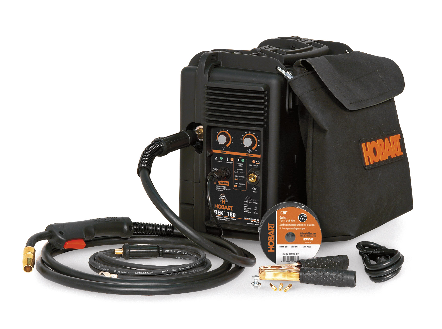 Hobart Introduces the Trek® 180 Battery-Powered MIG Welder; First ...