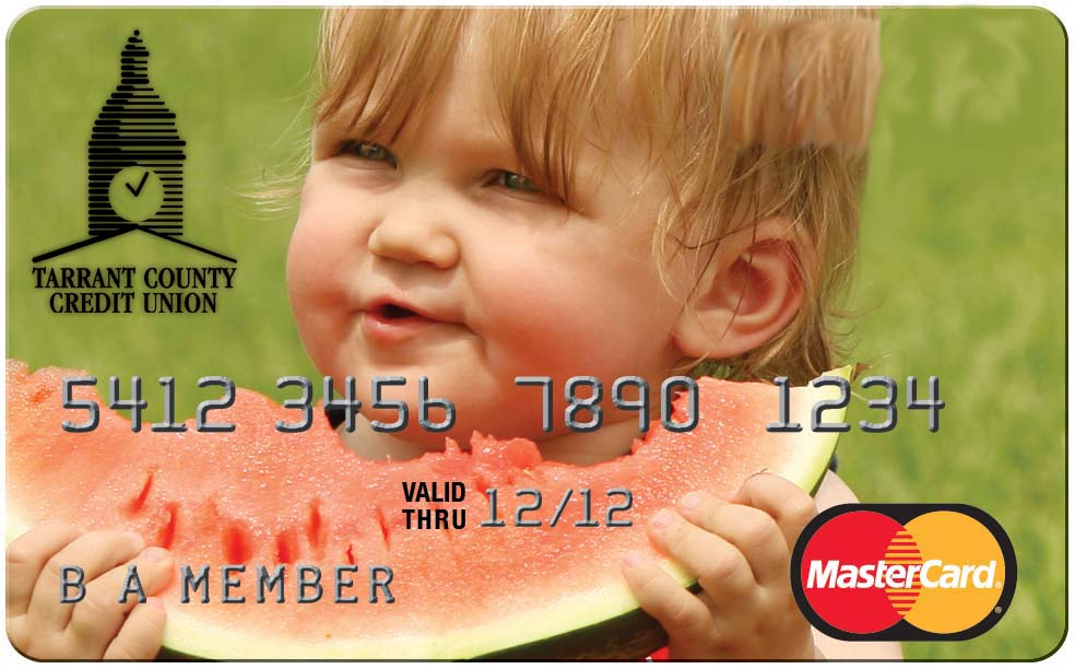 tarrant county cu personalized credit card - Personalized Credit Cards