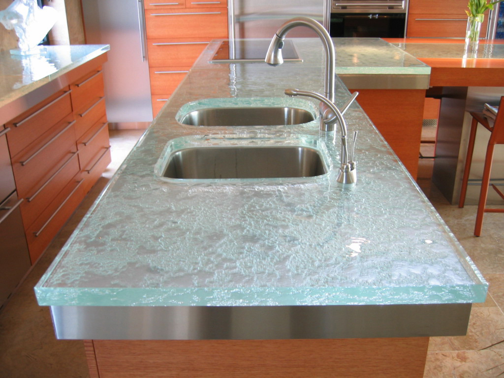 Glass Countertop is the Latest Trend to Hit the Kitchen and Bath ...