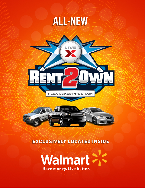 Lease To Own Car >> Live X Auto Exchange Announces New Rent To Own Program With Cars