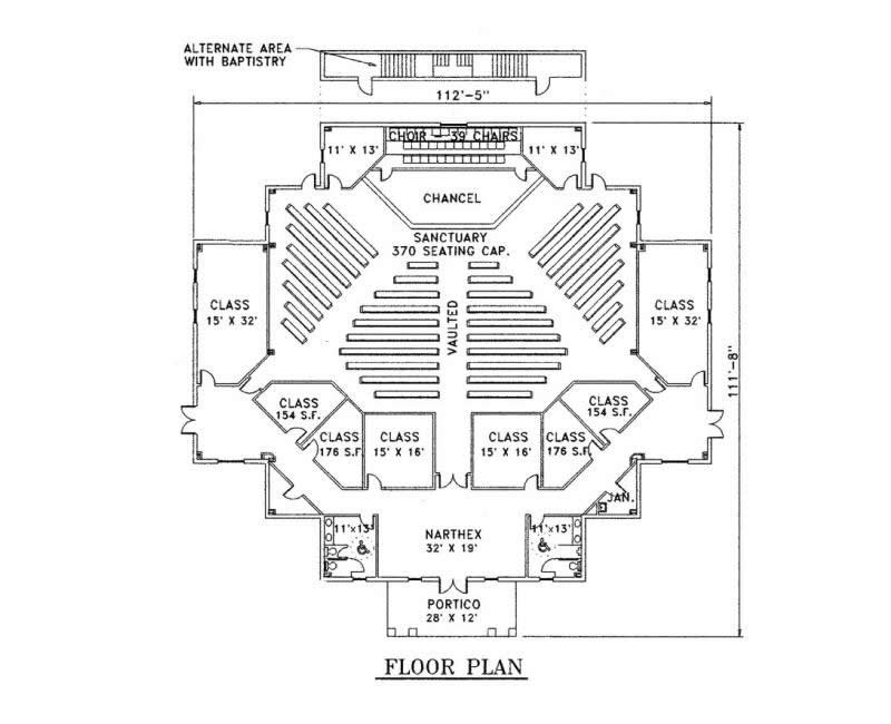 CBN News on Church Development in Gods Economy – Church Floor Plan Designs
