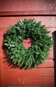 fraser fir christmas wreathfraser fir christmas wreath by green valley christmas tree