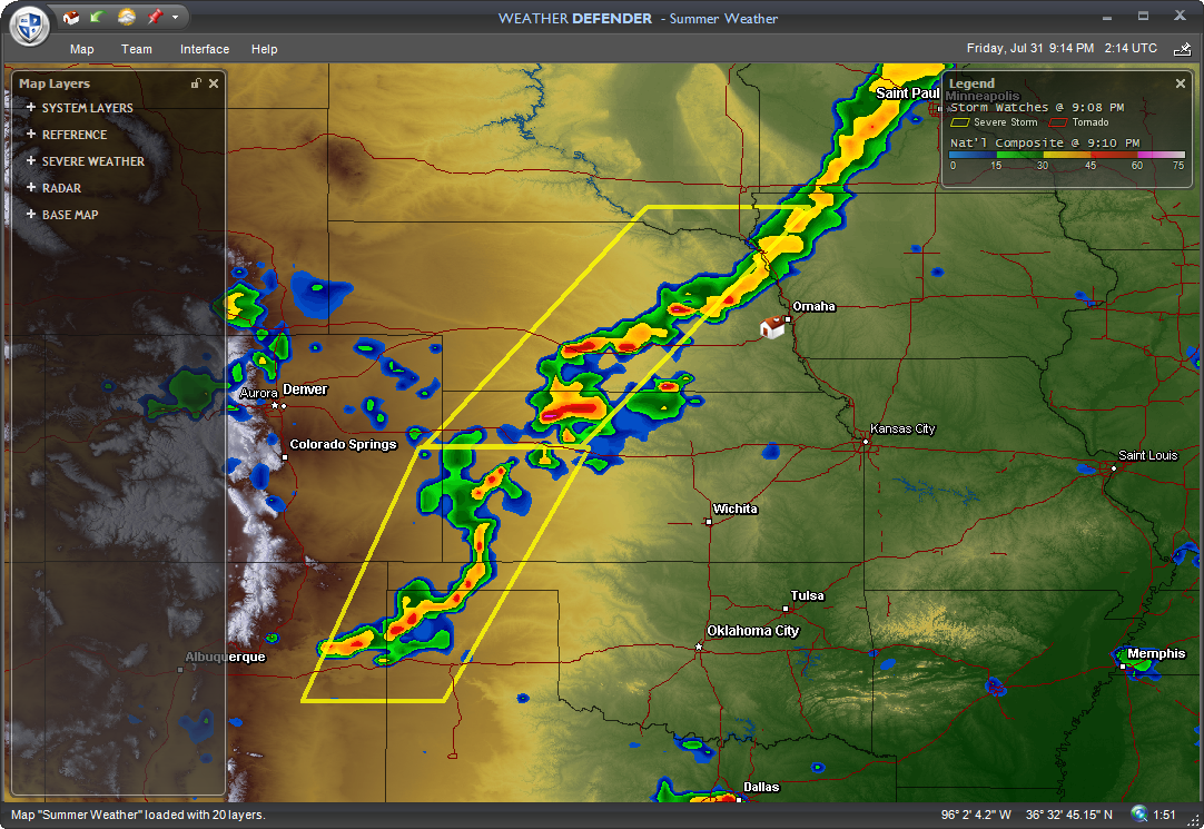 New Storm Tracking Software Weather Defender 1 1 From