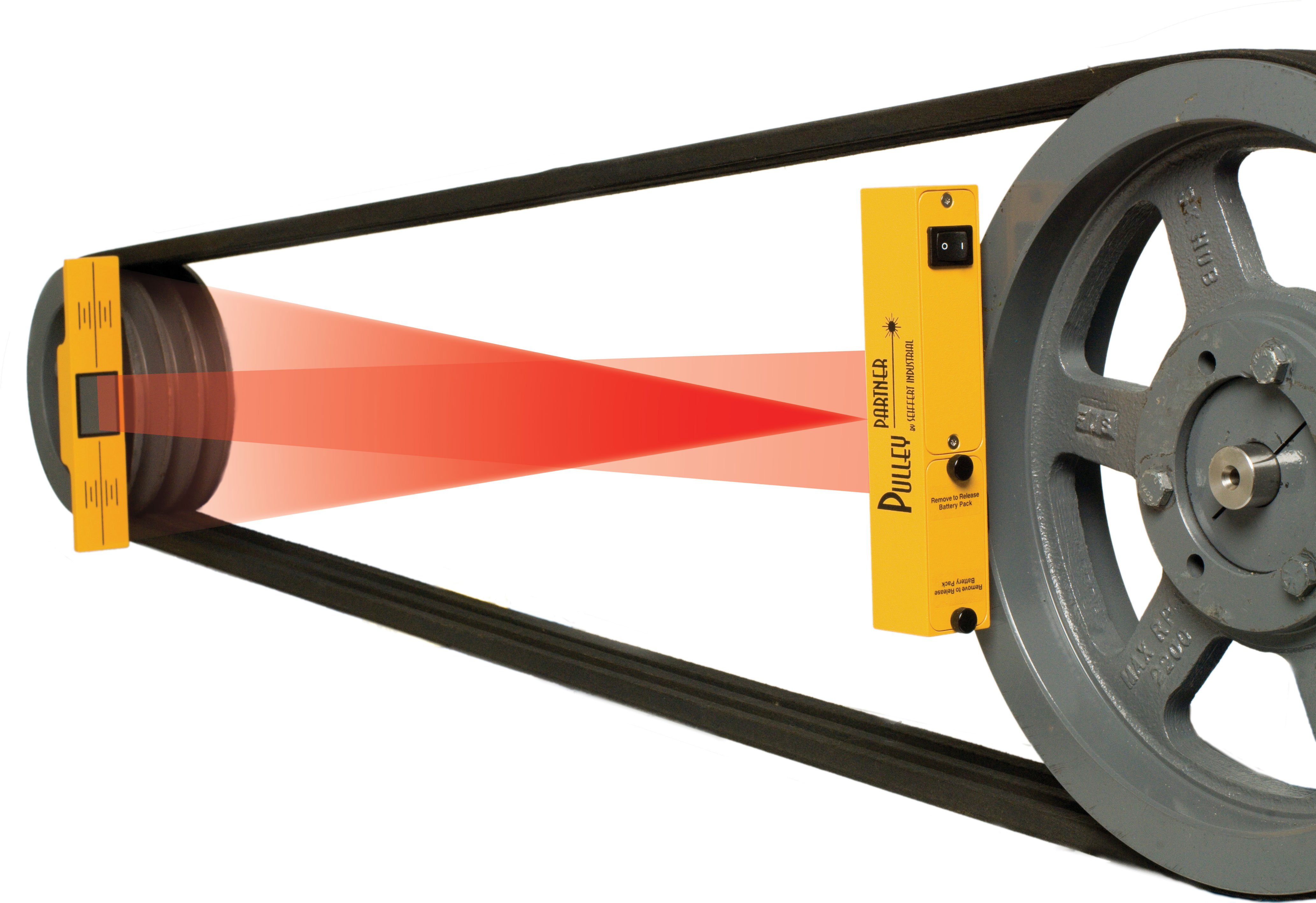 Parallel Roll Laser Alignment Tool With Green Laser