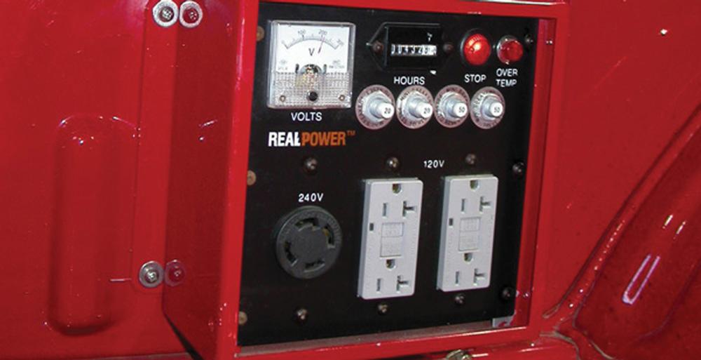 Real Power S 180 Kva Truck Mounted Ac Generators Gaining
