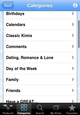 iTunes App Store Features Imikimi Digital Photo Framing App