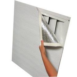 Lower Energy Bills With Shuttercover Trim To Fit Attic