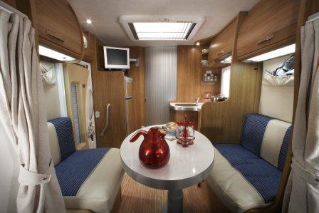Just Go Motorhome Hire Voyager Interior