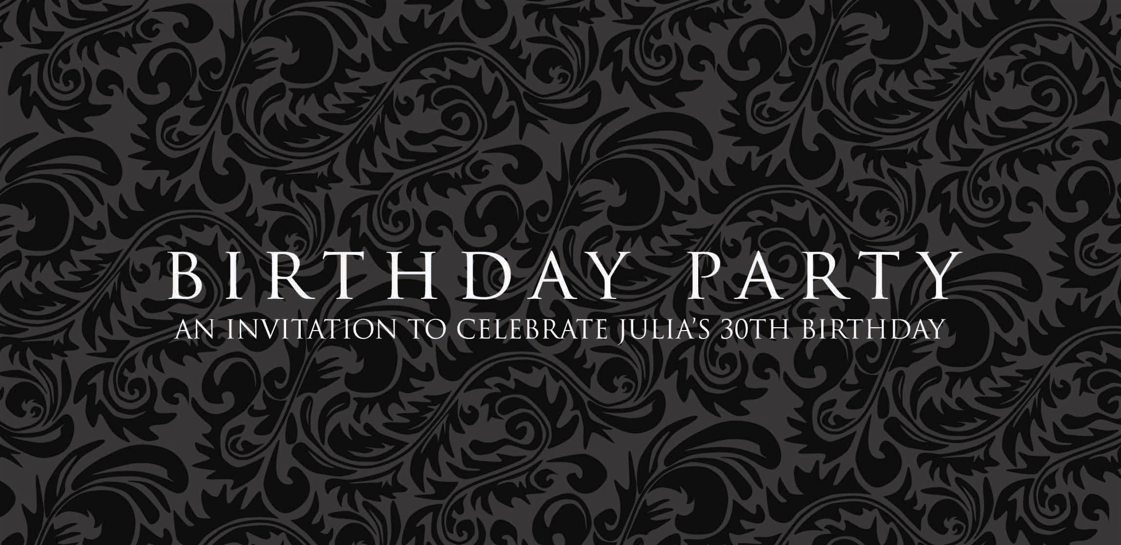 Ballisticblue expands its range of personalised invitations for birthday party invitation 2 filmwisefo