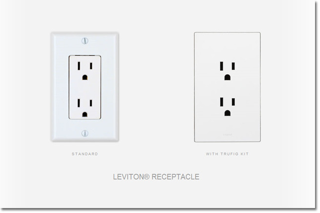 Electrical Outlet Flush Mounted With Trufig Kitelectrical Outlets Kit Are Nearly Invisible