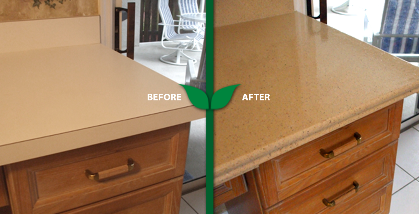 refinishing countertops to look like granite certified green refinishing company in tampa area 887