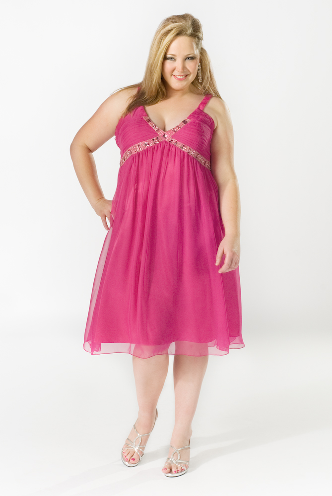 Top 10 Hot Trends for 2010 Plus Size Prom Dresses