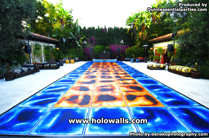 Liquid Fusion Flooring By Holo Walls Is Now Portable And Immediately