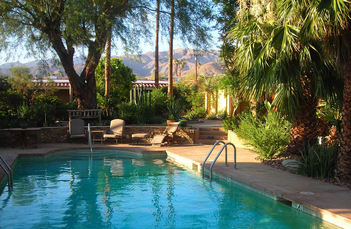 William Dailey S Hacienda Hot Springs Inn Is A Featured