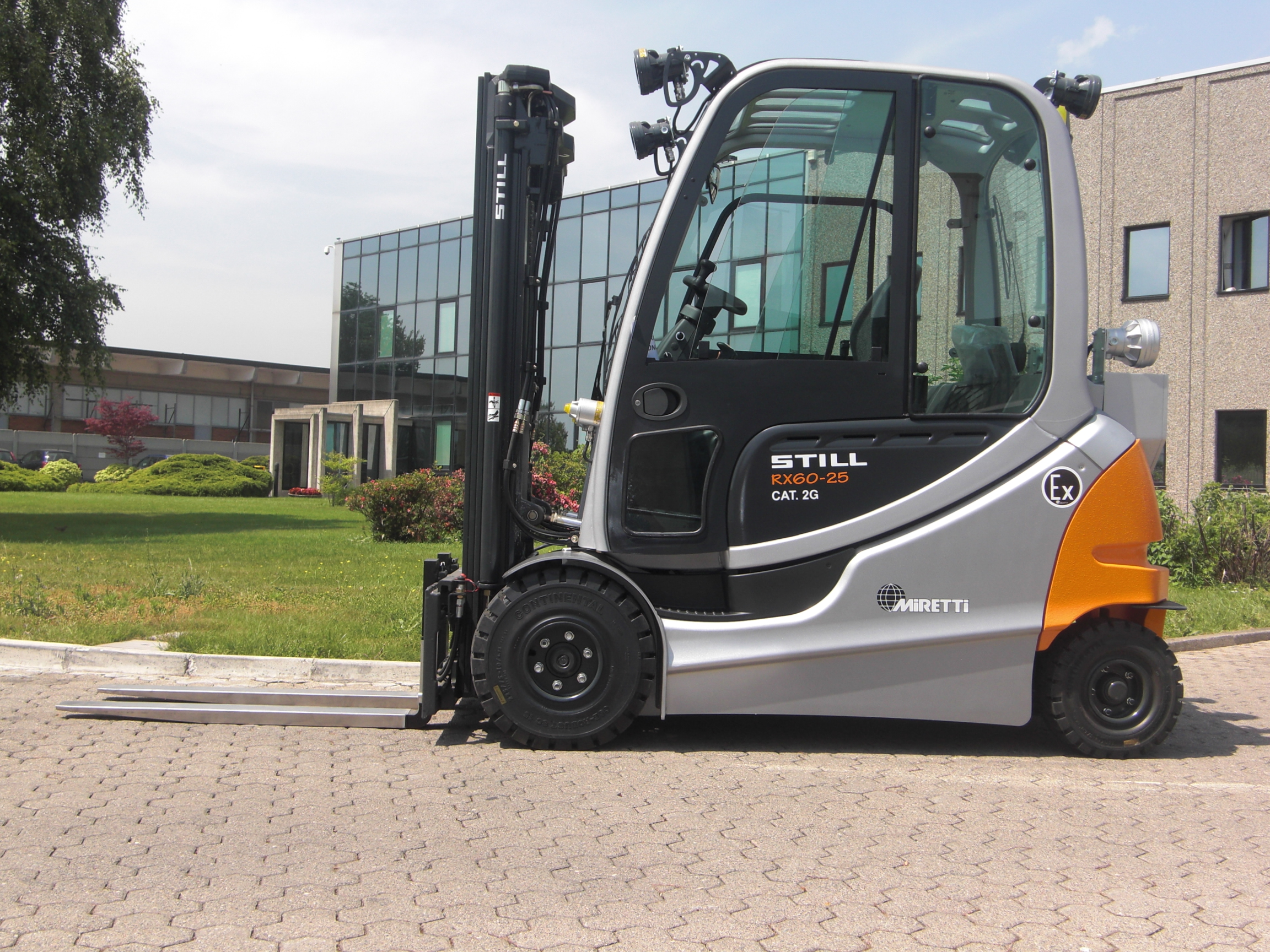 Miretti Usa Unveils New Line Of Explosion Proof Forklift