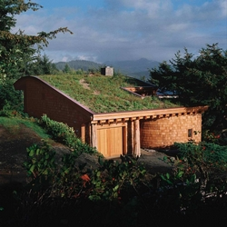 A certified green home in Oregon. Nathan Good, architect.