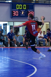 SnapSports Flooring at the USA Team Handball Collegiate National Championship