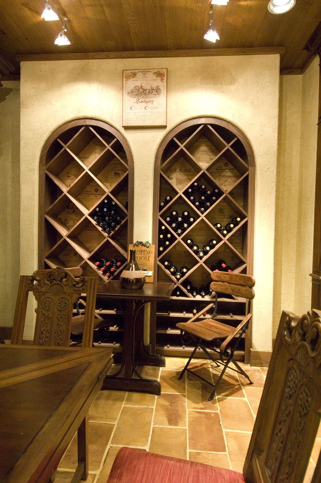 Interior Designer Adapts 18th Century French Wine Shop