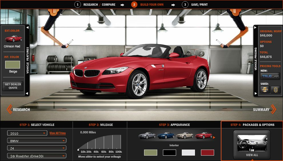 Build Your Car >> Pscars Com Launches The Most Advanced Automotive Tool Online To