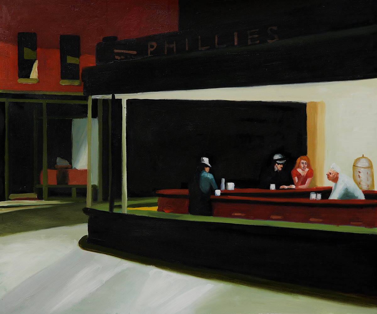 Paintings Like Hopper S Nighthawks