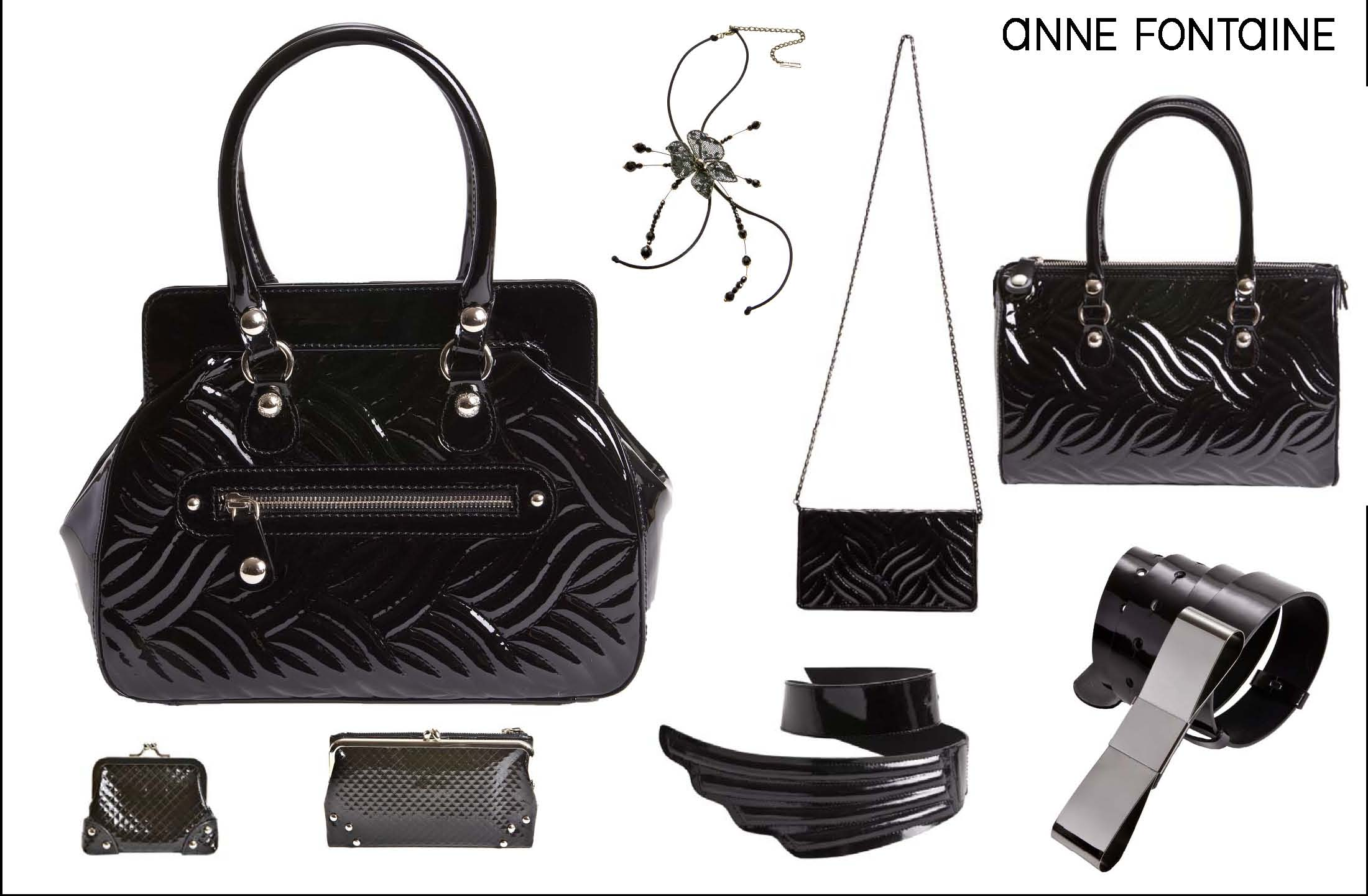 Feminine And Art Deco Inspired Pieces From Fall Winter 2010 Accessory Collection
