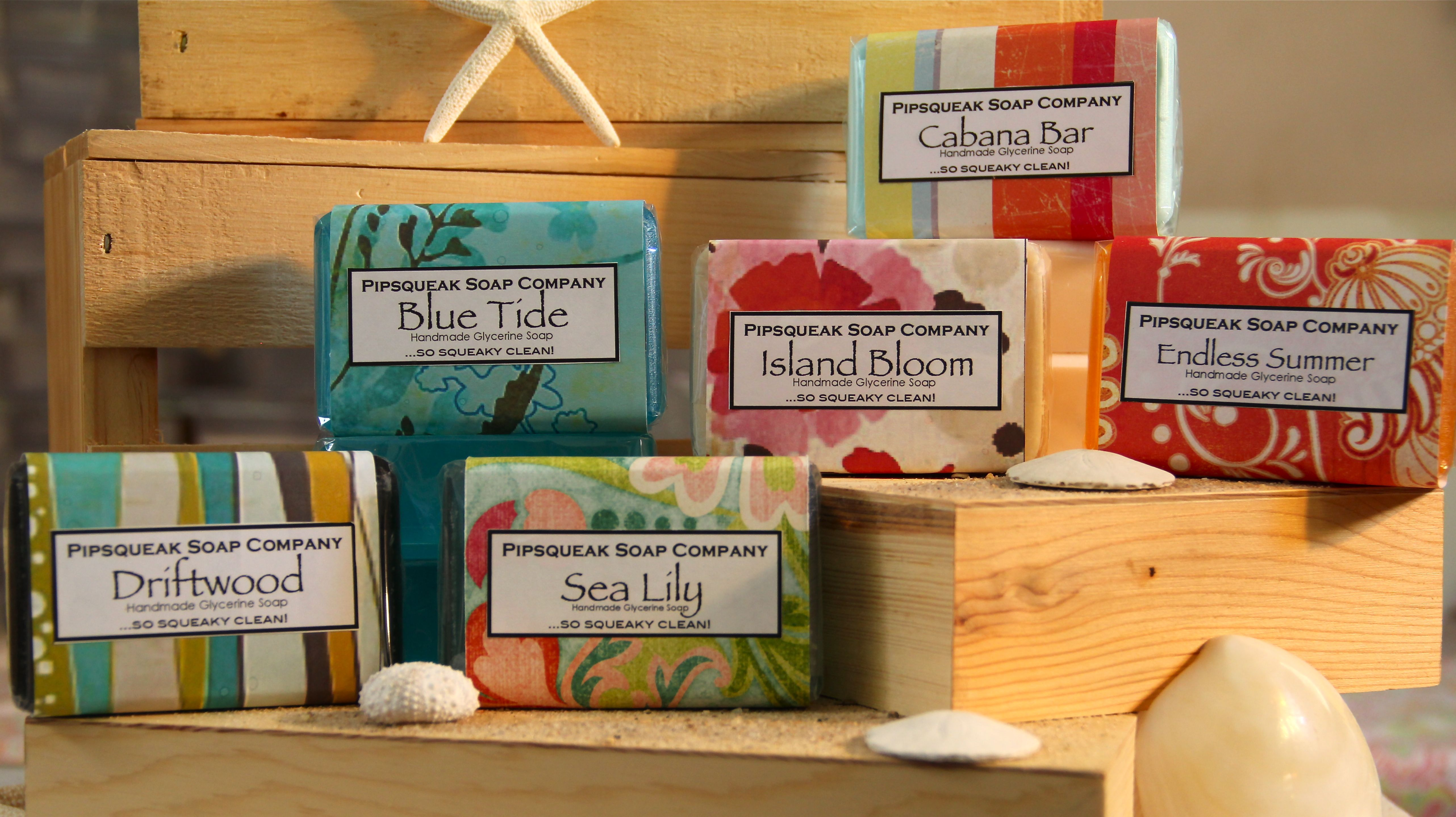 Pipsqueak Soap Company Launches Their New Scent, Cabana Bar