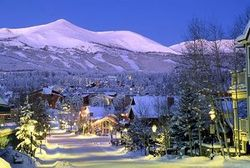 Breckenridge ski resort Colorado